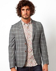 Vito Large Check Blazer