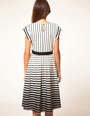 Image 2 ofASOS Midi Dress in Stripe