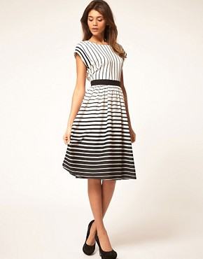 Image 4 ofASOS Midi Dress in Stripe
