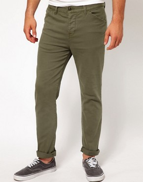 Image 1 ofASOS Heavyweight Skinny Chino