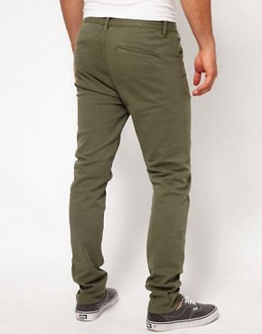 Image 2 ofASOS Heavyweight Skinny Chino