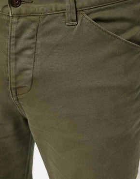 Image 3 ofASOS Heavyweight Skinny Chino