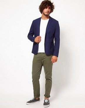 Image 4 ofASOS Heavyweight Skinny Chino
