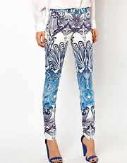 Goldsign Patterned Skinny Jeans