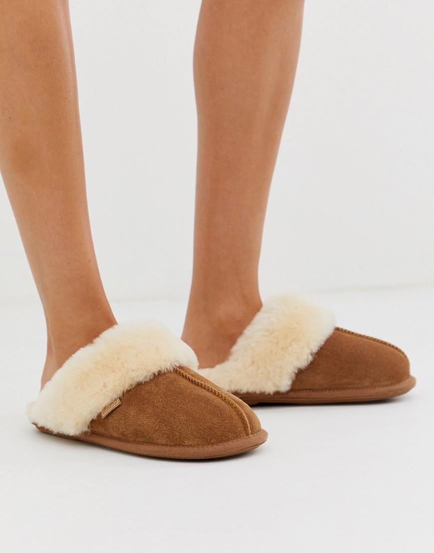 Just Sheepskin - Chaussons style mules