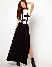 Just Female Maxi Skirt