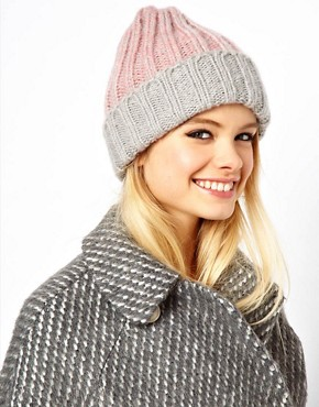 Image 1 ofASOS Chunky Rib Beanie