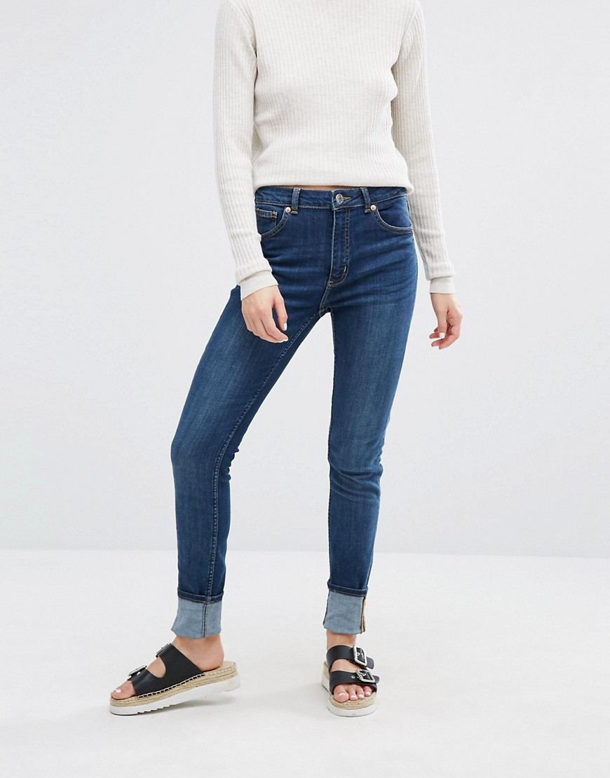 monki-mocki-superstretch-slim-mid-waist-jean-blue