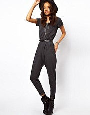 ASOS Onesie with Zip Front