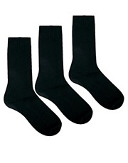 ASOS 3 Pack Waffles Socks