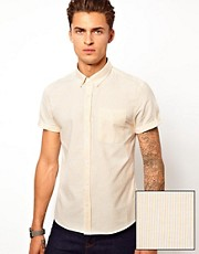 ASOS  Gestreiftes Oxford-Hemd
