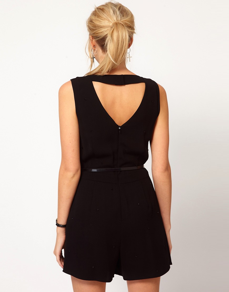 Image 2 of Oasis Studded Playsuit
