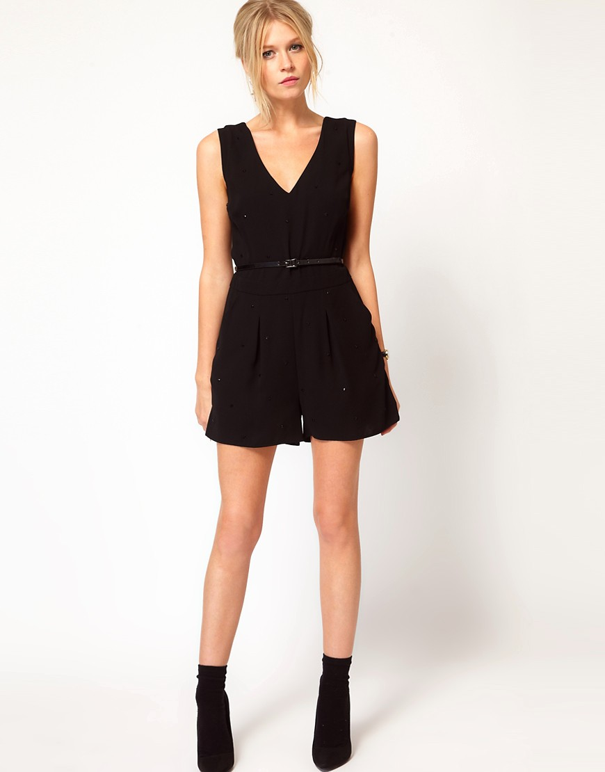 Image 4 of Oasis Studded Playsuit