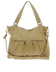 Warehouse Zip Around Shoulder Bag