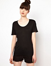 WH100 by Won Hundred Feist Loose Fit TShirt with Raglan Back Detail