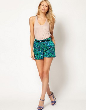 Image 1 ofOasis Gatsby Printed Shorts
