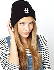 ASOS Hashtag Beanie