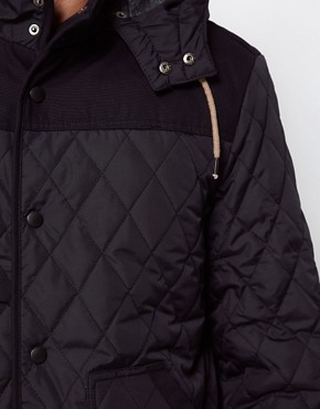 Image 3 ofRiver Island Quilted Farmer Jacket