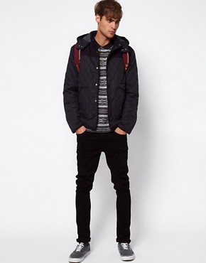 Image 4 ofRiver Island Quilted Farmer Jacket