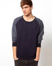 Solid Raglan Sweat