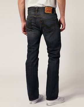 Image 2 ofLevis Jeans 501 Straight Dusty Black Wash