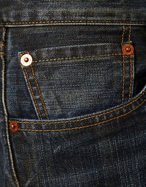 Image 4 ofLevis Jeans 501 Straight Dusty Black Wash