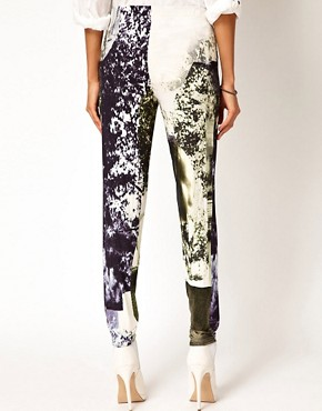 Image 2 of Diesel Printed Leggings