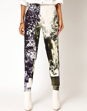 Image 4 of Diesel Printed Leggings