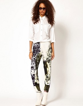 Image 1 of Diesel Printed Leggings