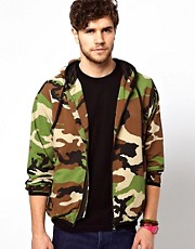 Franklin &amp; Marshall Jacket with Camo Print