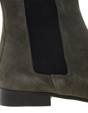 Image 2 ofASOS Chelsea Boots in Suede