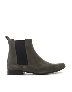 Image 4 ofASOS Chelsea Boots in Suede