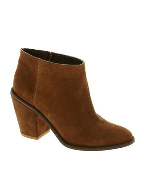 Image 1 ofASOS AUDIO Leather Ankle Boots