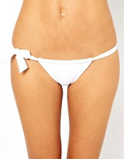 By Caprice Daisy Duke Side Tie Bikini Bottom