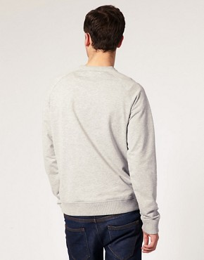 Image 2 ofASOS Raglan Crew Neck Sweat Shirt