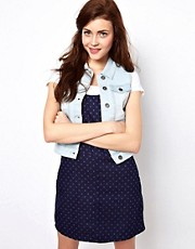 Vero Moda Sleeveless Denim Jacket