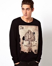Religion Card Sweatshirt