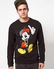 ASOS Sweatshirt With Mickey Mouse Print
