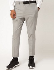 Film By Samuel Membery For ASOS Flat Front Trousers