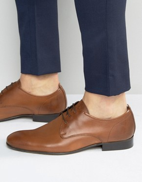 Base London Business Leather Oxford Shoes