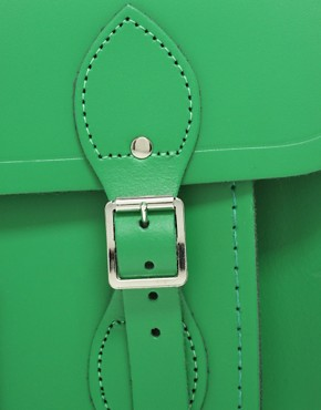 Image 4 ofCambridge Satchel Company Green 14&quot; Satchel