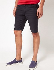 Insight &ndash; City Riot &ndash; Schmal geschnittene Denim-Shorts