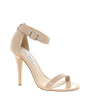 Steve Madden Realove Nude Strap Heeled Sandals