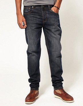 Image 1 ofASOS Dark Blast Slim Jeans