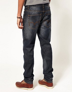 Image 2 ofASOS Dark Blast Slim Jeans