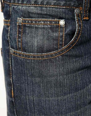 Image 4 ofASOS Dark Blast Slim Jeans