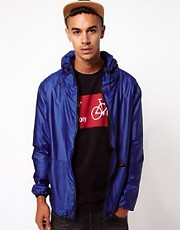 Rascals Jacket With Hood And Zip Detail