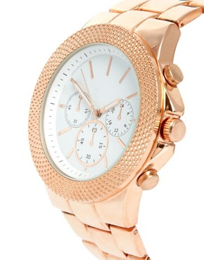 Image 3 ofASOS Interchangeable Bezel Boyfriend Watch