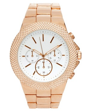 Image 1 ofASOS Interchangeable Bezel Boyfriend Watch