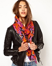 Whistles Victoria Floral Scarf